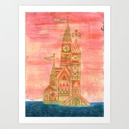 Crystal City 01-27-10a Art Print