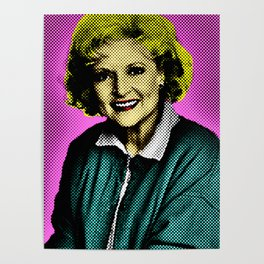 Golden Girls: Betty White Poster