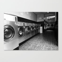 Whirly Wash 3 Canvas Print