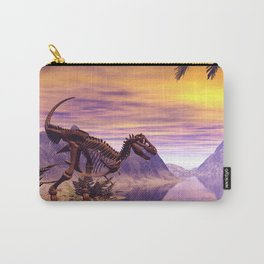 Dinosaur Skeleton  Carry-All Pouch