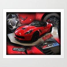 2016 corvette Z06 Art Print