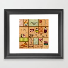 Sweet Things! Framed Art Print