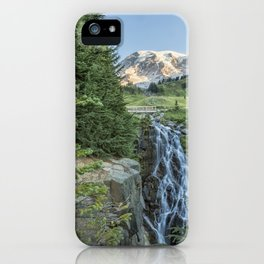 Early Morning at Myrtle Falls iPhone Case