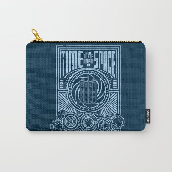 Time and Space Carry-All Pouch