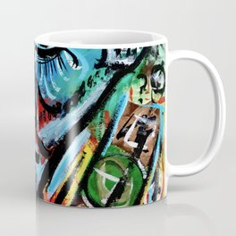 Elon - Abstract Expressionism Coffee Mug