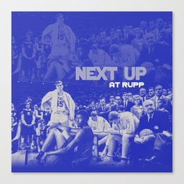 Next Up in Rupp Canvas Print