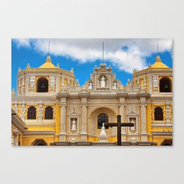 Cathedral in Antigua, Guatemala Canvas Print