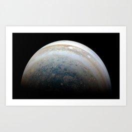 1067. Outbound View of Jupiter Art Print