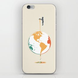 Fill your world with colors iPhone Skin