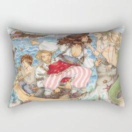 Calm Ending Rectangular Pillow