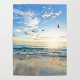 Beach Scene 34 Poster