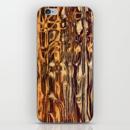 Grunge Wood iPhone Skin