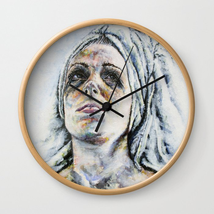 Caught in a Moment Wall Clock