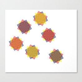 Magic Triad Canvas Print