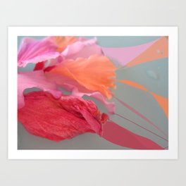 Flower Flow Art Print
