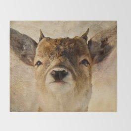 Little antlers Throw Blanket