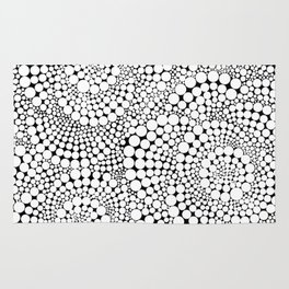 Flower-op-art Rug