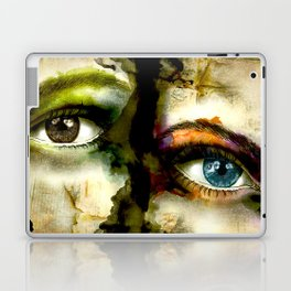 2Eyes2Faces by carographic Laptop & iPad Skin