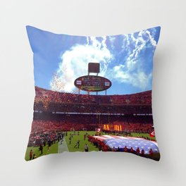 Arrowhead Home Opener Throw Pillow
