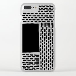 b&w 204 Clear iPhone Case