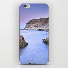"""Blue Volcano"" iPhone Skin"