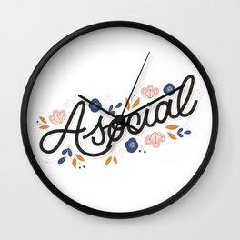 Asocial Wall Clock