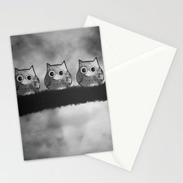 owl 61 Stationery Cards
