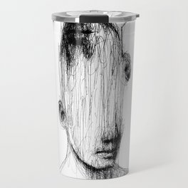 No Eyes Travel Mug