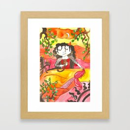 Mermaid Rosalinda Framed Art Print