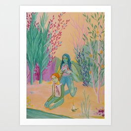 Initiation Art Print