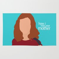 himym Area & Throw Rugs featuring Lily Aldrin HIMYM by Rosaura Grant