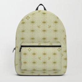 Art nouveau leafs Backpack