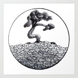 Its a Tree in a Circle Art Print