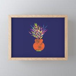 Flower Pot IV Framed Mini Art Print