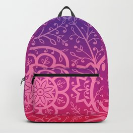 Beautiful indian floral pattern  Backpack