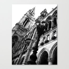 Opera at the Hall in Vienna Canvas Print