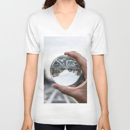 That Upside Down Feeling Unisex V-Neck