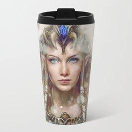 Epic Princess Zelda from Legend of Zelda Painting Travel Mug