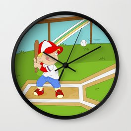 Non Olympic Sports: Baseball Wall Clock