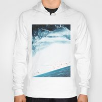 swim Hoodies featuring Teal Swim by Stoian Hitrov - Sto