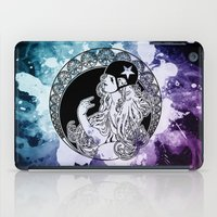 roller derby iPad Cases featuring Nouveau Roller Derby World by Mean Streak