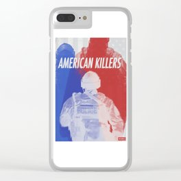 American Killers Clear iPhone Case