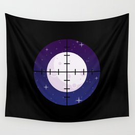 Aim for the Moon Wall Tapestry