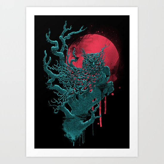 Night Shift Art Print