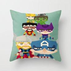 avengers 2 fan art Throw Pillow