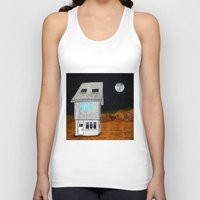 moonrise kingdom Tank Tops featuring Moonrise Kingdom by Veronique de Jong