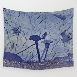 glass flowers  Wall Tapestry