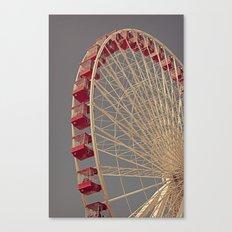 Chicago Wheel Canvas Print