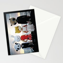 Dapper Animals Sunset Faces Stationery Cards