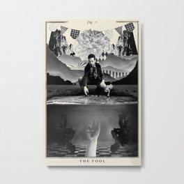 Fig. 0 - The Fool Metal Print